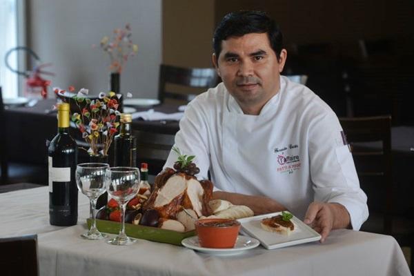 Geraldo Costa, chef do L'Affaire, restaurante que participa do evento desde a primeira edição  ( Ed Alves/CB/D.A Press)
