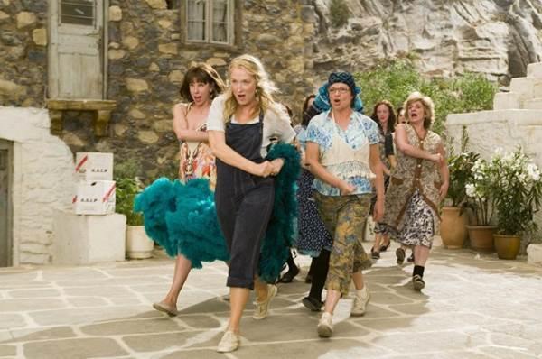 Meryl Streep é o destaque de Mamma Mia!, em exibição no canal Studio Universal (Universal Pictures/divulgação)