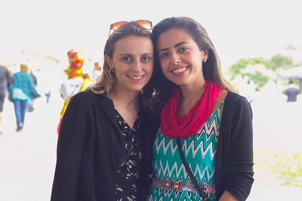 Laura Rodrigues e Amanda Correia (Rômulo Juracy/Esp. CB/D.A Press)