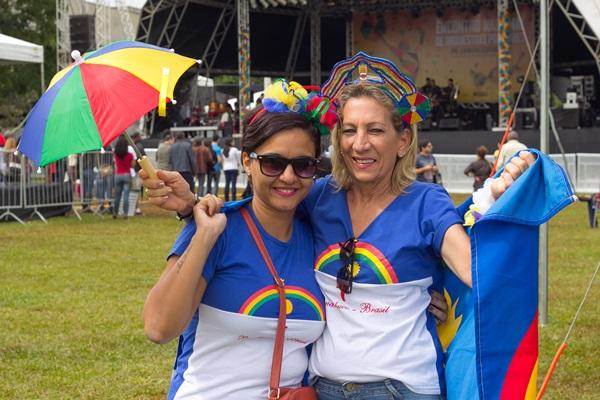 Paula Oliveira e Claudia Lisboa (Rômulo Juracy/Esp. CB/D.A Press)