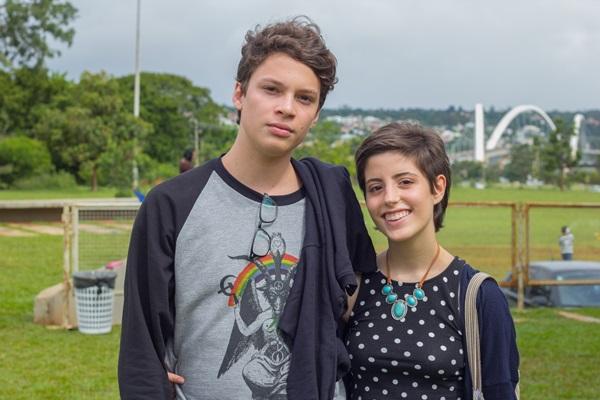 Pedro Moreira e Marcela Rossiter (Rômulo Juracy/Esp. CB/D.A Press)