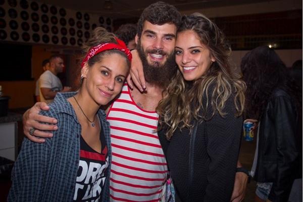 Isabela Avellar, Lucas Kubitschek e Luiza Nobre (Romulo Juracy/Esp. CB/D.A Press)