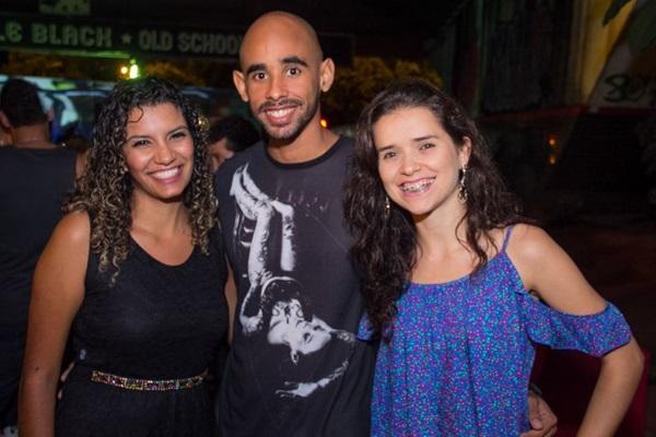 Vanessa Rodrigues, Thiago Rodrigues e Evelin Campos (Romulo Juracy/Esp. CB/D.A Press)