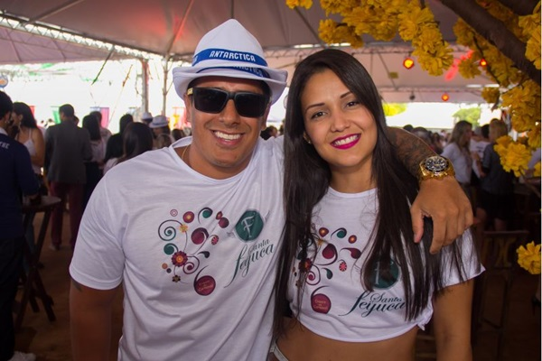 Andrett Costa e Annie Alves (Romulo Juracy/Esp. CB/D.A Press)