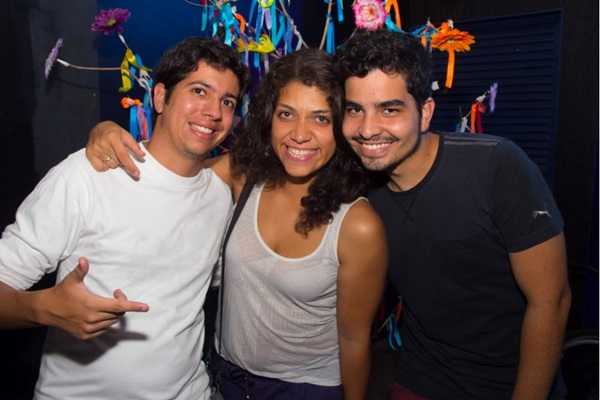 Daniel Ramos, Raísa Guedes e Frederico Lima (Romulo Juracy/Esp. CB/D.A Press)