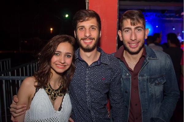 Tainara Courado, Lucas Mota e Vitor Assunção (Romulo Juracy/Esp. CB/D.A Press)
