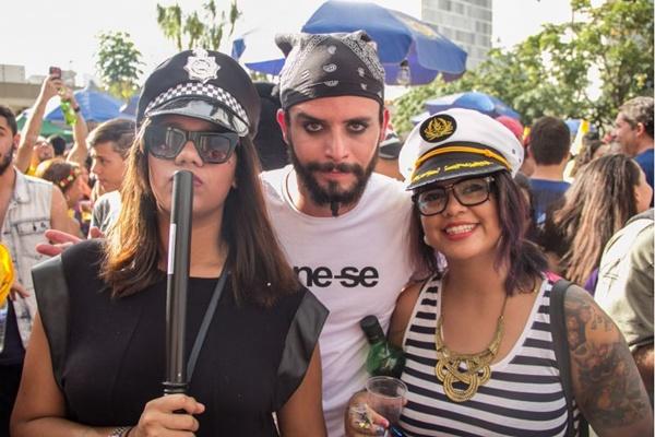 Aline Moreira, Daniel Moreira e Samara Rolim (Romulo Juracy/Esp. CB/D.A Press)