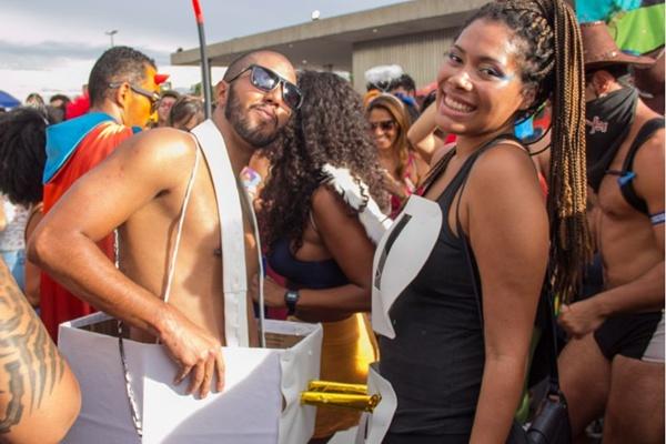 André Albuquerque e Gisele Dias (Romulo Juracy/Esp. CB/D.A Press)