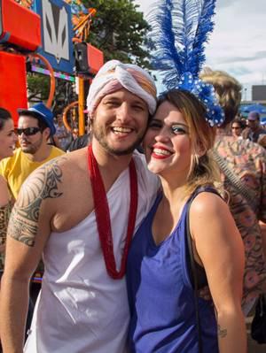 Erick Stossel e Luciana Rezende (Romulo Juracy/Esp. CB/D.A Press)