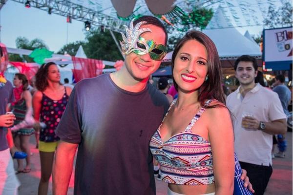 Luiz Duarte e Natália Nunes ( Romulo Juracy/Esp. CB/D.A Press)