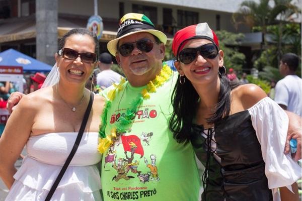 Ana Luiza Vasconcelos, Arimatéia Lima e Sirlei Vieira (Romulo Juracy/Esp. CB/D.A Press)