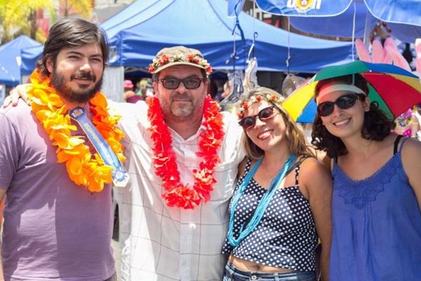 Leandro Monerato, Reginaldo Gontijo, Níria Dias e Laura Gontijo (Romulo Juracy/Esp. CB/D.A Press)