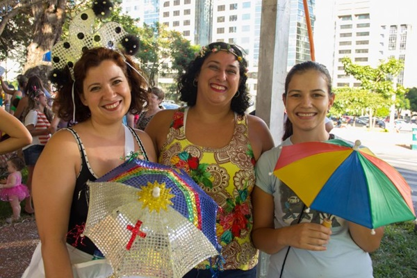Carolina Souza, Ivana Carvalho e Larissa Tunes (Romulo Juracy/Esp. CB/D.A Press)