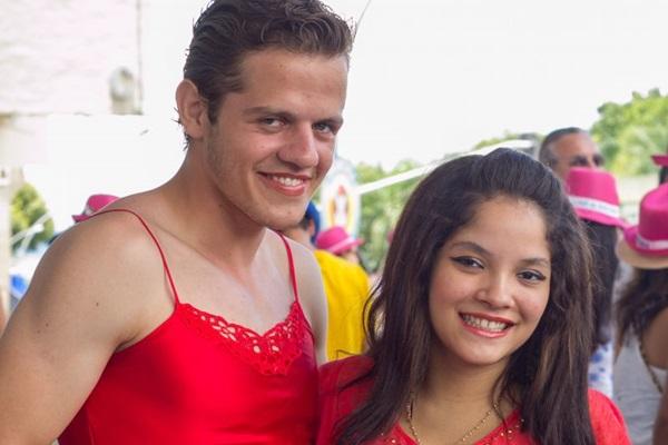 Hugo Griebeler e Ana Gabriela Sales (Romulo Juracy/Esp. CB/D.A Press)