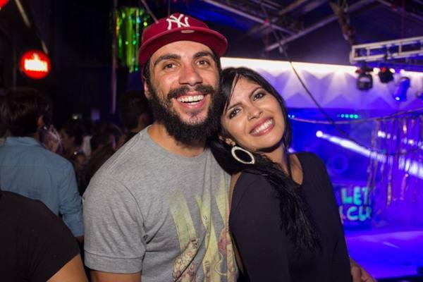 Paulo Gonçalves e Carol Oliveira (Romulo Juracy/Esp. CB/D.A Press)