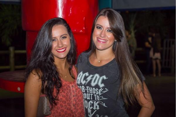 Érica Almeida e Bárbara Almeida (Romulo Juracy/Esp. CB/D.A Press)