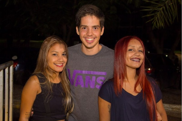 Kelly Barbosa, Vinicius Ribeiro e Kádima Silva (Romulo Juracy/Esp. CB/D.A Press)