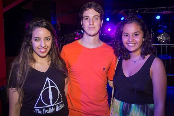 Marina Faria, Rodrigo Vinicius e Fernanda Vieira (Romulo Juracy/Esp. CB/D.A Press)