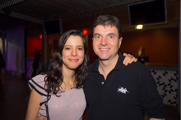 Natália Coelho e Eugênio Garciana (Romulo Juracy/Esp. CB/D.A Press)