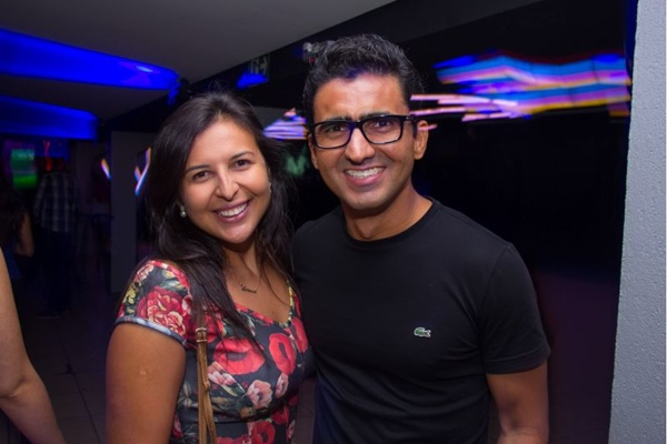 Vanessa Santana e Gerônimo Lessa (Romulo Juracy/Esp. CB/D.A Press)