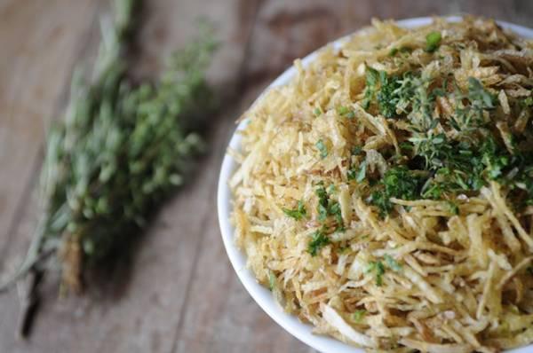 O arroz parrillero, prato típico argentino, é uma das estrelas do Toro  (Bruno Peres/CB/D.A Press)