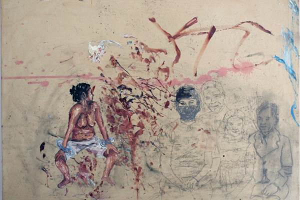 Obra da Camila Soato faz parte da feira que estará em cartaz amanhã e domingo  ( Alfinete Galeria/Divulgação)