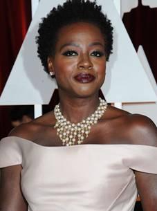 Atriz Viola Davis (AFP PHOTO / VALERIE MACON)
