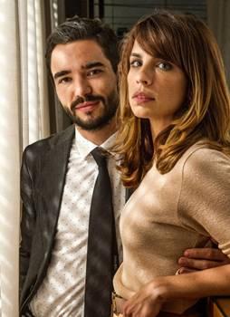 Caio Blat e Maria Ribeiro contracenam juntos em Império ( Renato Rocha Miranda/TV Globo)