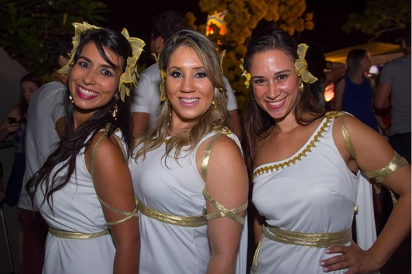 Érica Gabriel, Mônica Espíndola e Priscila Caixeta (Romulo Juracy/Esp. CB/D.A Press)