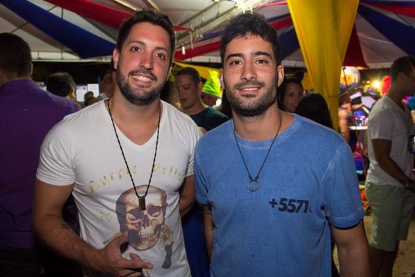 Guilherme Cayres e Daniel Guedes (Romulo Juracy/Esp. CB/D.A Press)