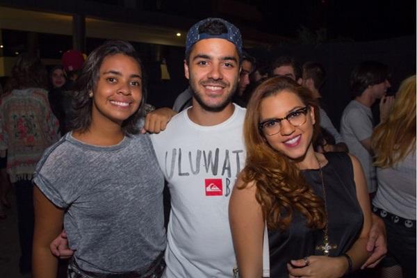 Açucena Oliveira, João Mazocante e Samira Rodrigues  (Romulo Juracy/Esp. CB/D.A Press)