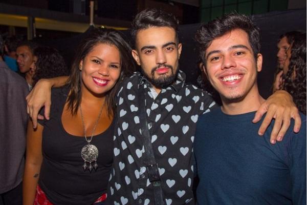 Emanuela Maciel, Douglas Galvão e Maurício Campos (Romulo Juracy/Esp. CB/D.A Press)