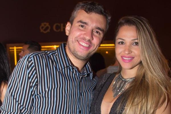 Anselmo Mota e Alyne Machado (Romulo Juracy/CB/D.A Press)
