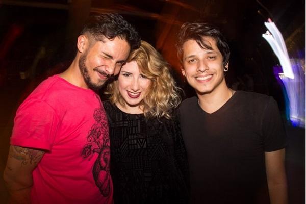 André Felipe, Sarah Fialho e Pedro Lacerda (Romulo Juracy/Esp. CB/D.A Press)