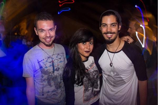 Igor Albuquerque, Bárbara Oliveira e Arthur Rodrigues (Romulo Juracy/Esp. CB/D.A Press)