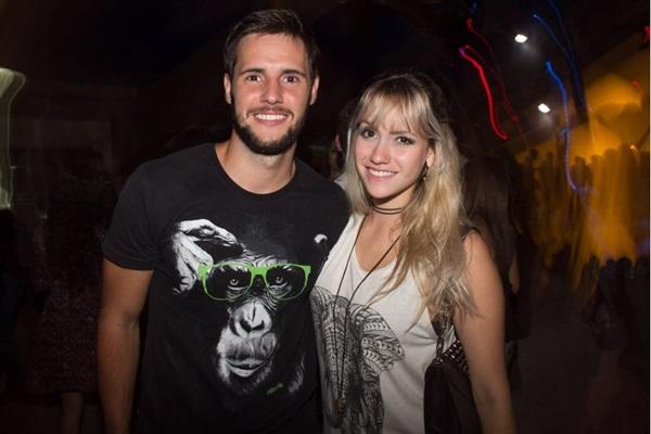 João Brigido e Raquel Simioni  (Romulo Juracy/Esp. CB/D.A Press)