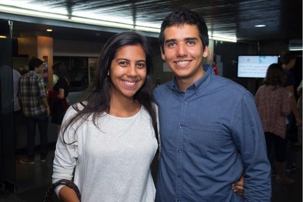 Anna Alice Nunes e Eric de Castro (Romulo Juracy/Esp. CB/D.A Press)