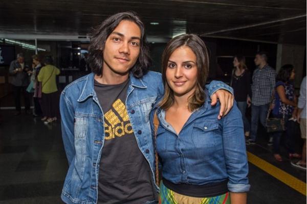 Marcelo Vasconcelos e Mariana dos Santos (Romulo Juracy/Esp. CB/D.A Press)