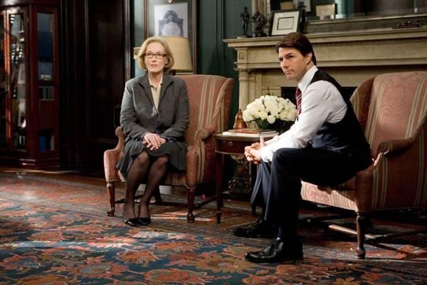 Cena do filme Leoes e cordeiros com Meryl Streep e Tom Cruise (Fox Filmes/Divulgacao)