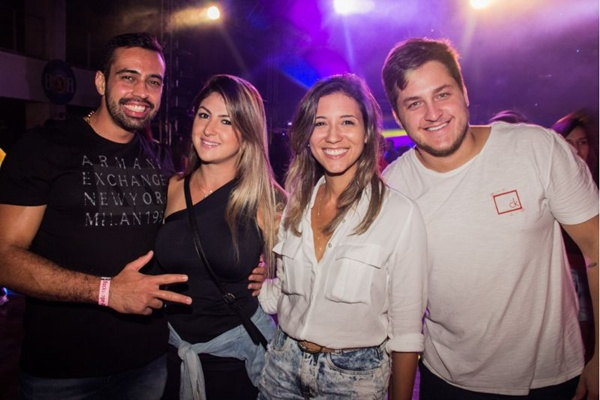 Wilson Amaral, Alessandra Tejera, Fernanda Coutinho e Evaristo Pazos (Romulo Juracy/CB/D.A Press)