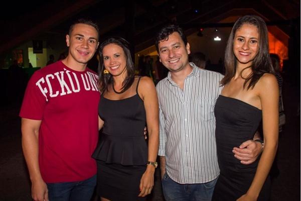 Bruno Toleto, Lidia Santos, Guilherme Fontes e Neiva Barreto (Rômulo Juracy/Esp. CB/D.A Press)