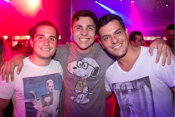 Thiago Vieira, Rafael Faguineli e Mauro Santos (Romulo Juracy/Esp. CB/D.A Press)