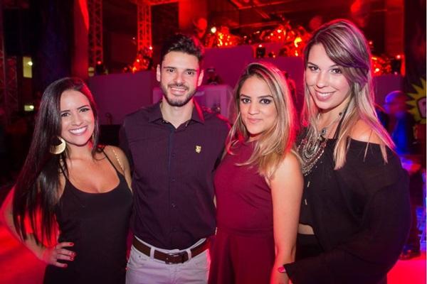 Thaisa Meira, Claudir Carneiro, Camila Matos e Lorrane Silva (Romulo Juracy/Esp. CB/D.A Press)