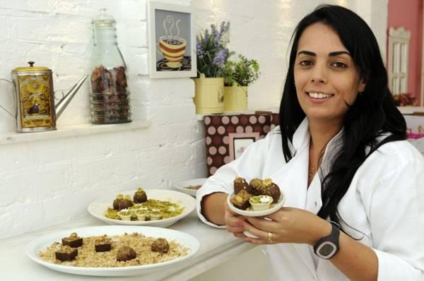 A praliné incrementa os doces da Cioccolateria, de Elisa Rodrigues  (Bruno Peres/CB/D.A Press)