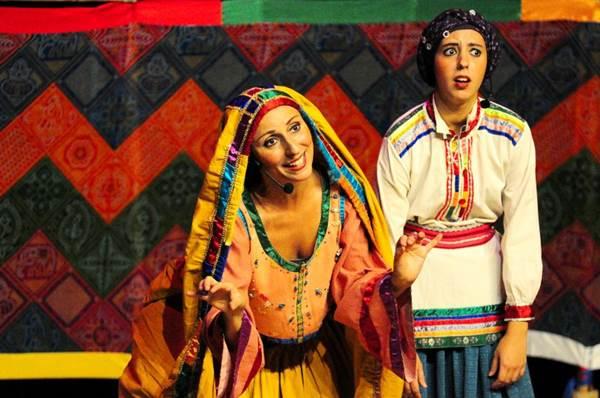 Dança e teatro rompem a barreira cênica na apresentação de seis contos infantis  (Mauro Kury/Divulgação)