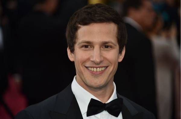 Comediante Andy Samberg (AFP PHOTO / MLADEN ANTONOV )