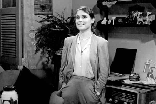 A socióloga Malu marcou a carreira de Regina Duarte  (Arquivo TV Globo)