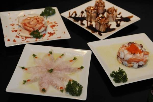 Pratos do festival japonês do restaurante Nazo Sushi Bar (Bruno Peres/CB/D.A Press)