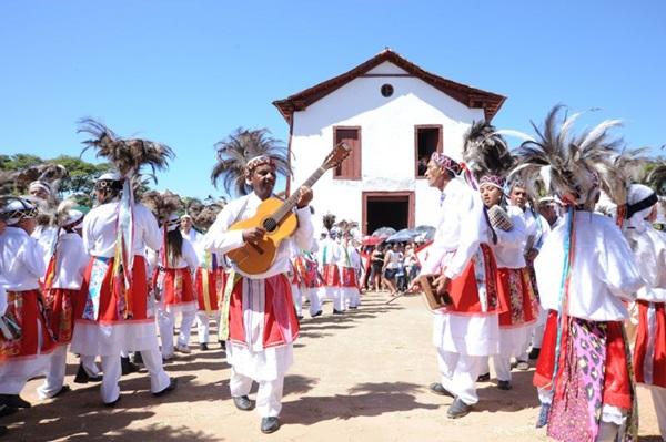 A Congada de Santa Efigênia fará o encerramento da Feira Fest Brasileira  (Wagner Luiz/Divulgação)