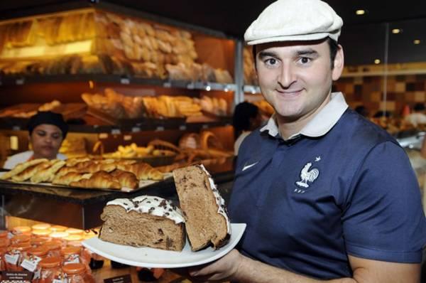 O francês Guillaume Petitgas aposta em receitas especiais para a Páscoa  (Bruno Peres/CB/D.A Press)